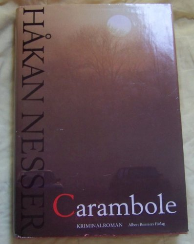 9789100569358: Carambole: Kriminalroman (Swedish Edition)