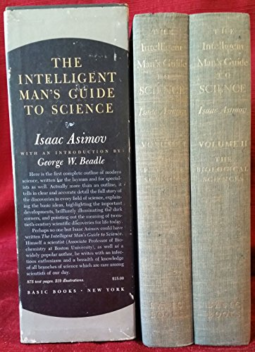 9789110022157: The Intelligent Man's Guide to Science Volume One: The Physical Sciences and Volume Two: The Biological Sciences