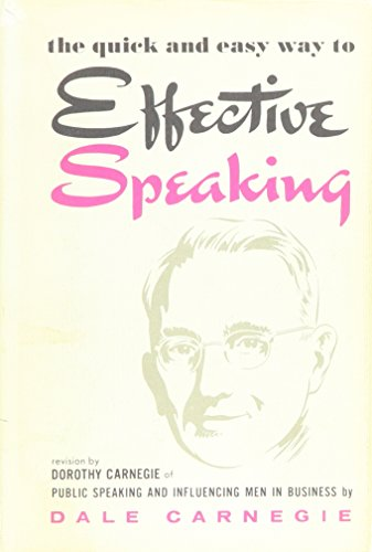 9789110026636: THE QUICK AND EASY WAY TO EFFECTIVE SPEAKING.
