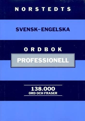 9789113029528: Norstedt's Professional Swedish-English Dictionary (English and Swedish Edition)