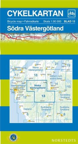 Vastergotland South Cycling Map: SE.CYK.13: Norstedts,