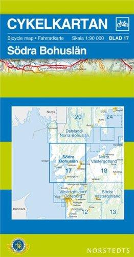 9789113042114: Bohuslan South Cycling Map: SE.CYK.17