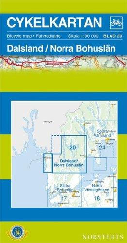 Dalsland/Bohuslan North Cycling Map: SE.CYK.20: Norstedts,