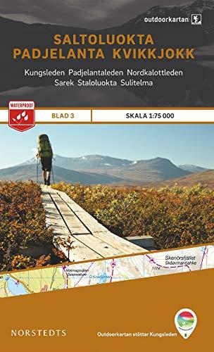 9789113068152: Outdoorkartan Schweden 03 Saltoluokta - Padjelanta - Kvikkjokk 1 : 75 000: amtliche Karte
