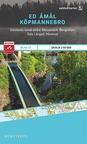 Outdoorkartan Schweden 17 Ed - Amal - Köpmannebro 1 : 50 000