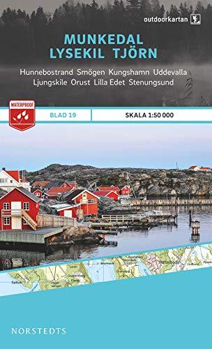 Outdoorkartan Schweden 19 Munkedal - Lysekil - Tjörn 1 : 50 000