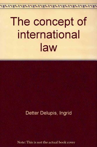 9789118675621: The concept of international law