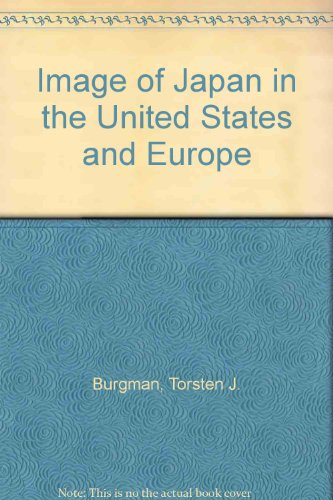 9789122008958: Image of Japan in the United States and Europe