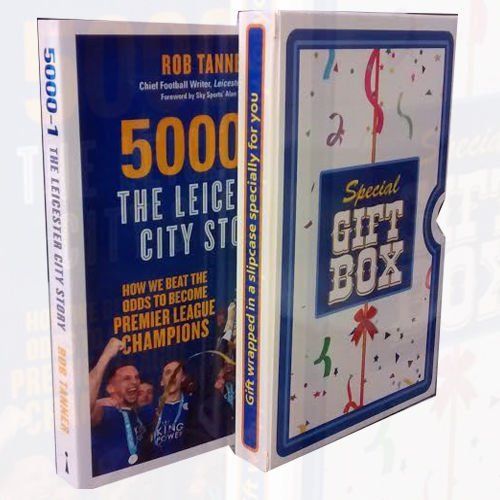 9789123469710: 5000-1 The Leicester City Story: How We Beat The Odds to Become Premier League Champions Gift Wrapped In a Slipcase Specially For You