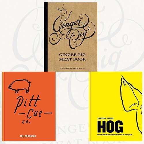 9789123473694: Ginger Pig Meat Book,Pitt Cue Co.and Hog 3 Books Bundle Collection - The Cookbook, Proper pork recipes from the snout to the squeak