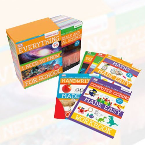 9789123491520: Everything I Need to Know for School Key Stage 2 Age (7-9) 30 Books Bundle (Creepy-Crawlies