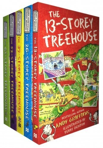Treehouse Books Collection Andy Griffiths 5 Books Bundle 9789123491537 Treehouse Books Collection Andy Griffiths 5 Books Bundle includes titles in this collection :- The 65-Storey Treehouse, The 52-Storey Tr