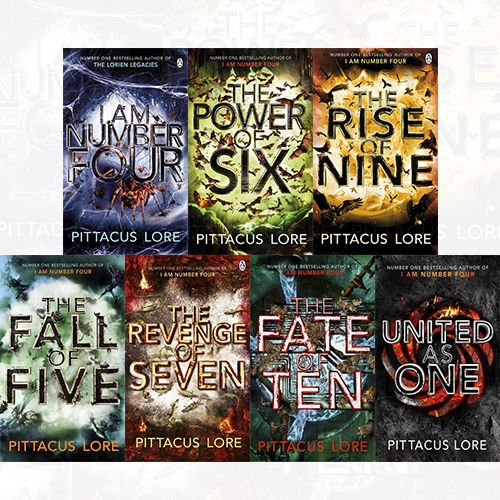 9789123492480 Lorien Legacies Series 7 Books Collection Set By