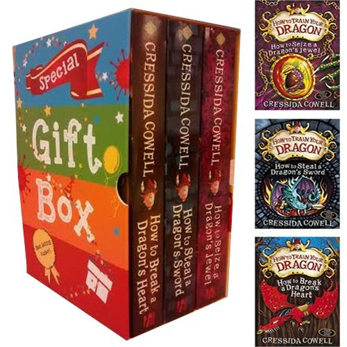 9789123513932: Cressida Cowell How To Train Your Dragon Series Collection 3 Books Bundle Gift Wrapped Slipcase Specially For You
