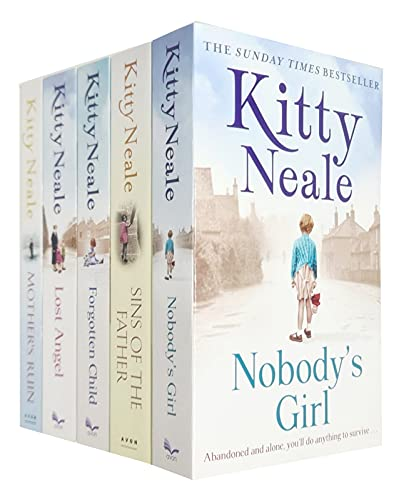 9789123918003: Kitty Neale Collection 6 Books Set (Mother's Ruin, Nobody's Girl, Sins of the Father, Lost & Found, Forgotten Child, Lost Angel)