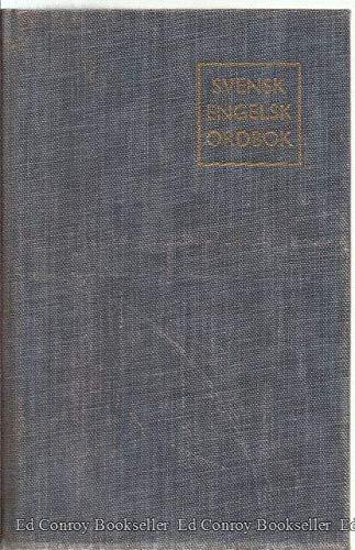 Svensk Engelsk Ordbok/Swedish English Dictionary: Carre, K.