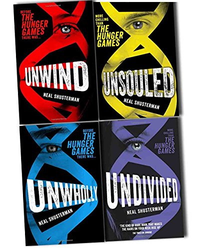 9789124362638: Neal Shusterman Unwind Dystology 4 Books Collection Pack Set (Unwholly, Unwind, Unsouled, Undivided)