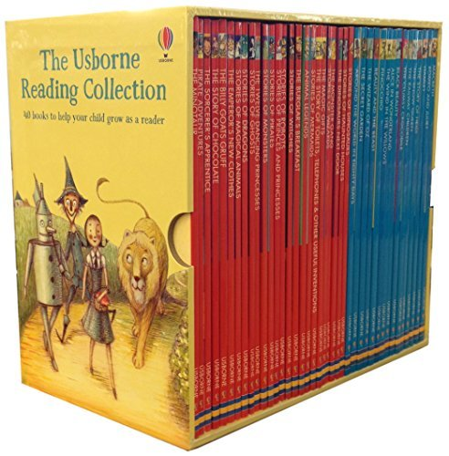 9789124372828: Usborne Young Reading Series Collection 40 Books Box Set-Read At Home by Usborne (2015-11-09)