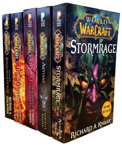 Warcraft - World Of Warcraft - 5 Book Collection Set