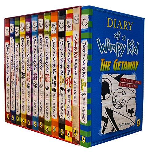9789124377571 Diary Of A Wimpy Kid Collection 11 Books Set Pack 1 11 Abebooks Jeff Kinney 9124377570