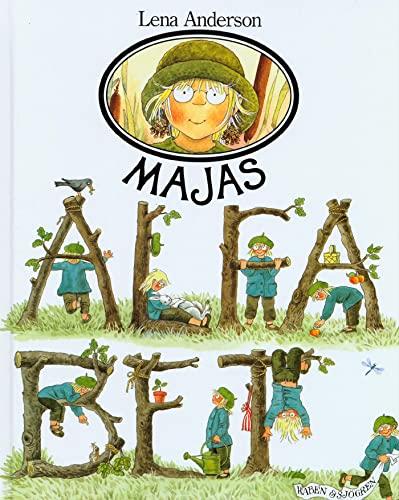 Majas alfabet (Swedish Edition): Anderson, Lena