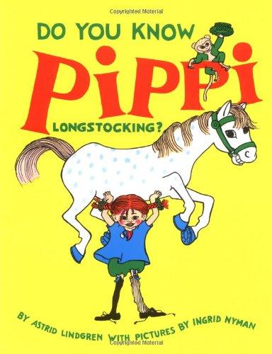 9789129662030: Do You Know Pippi Longstocking?