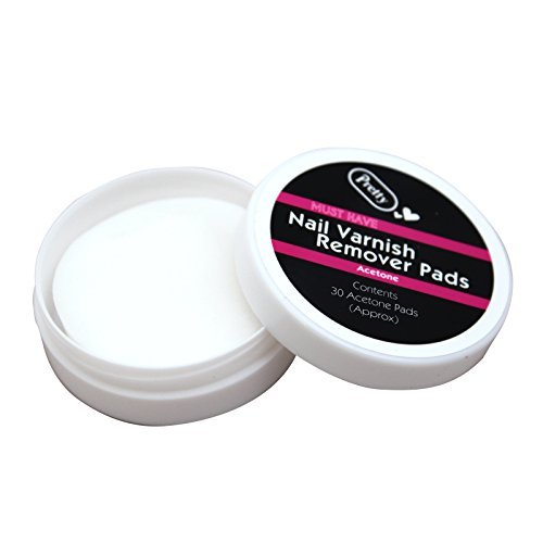 9789132590580: Nail Varnish Remover 60 Pads - Wipe Cleaning Manicure for Natural Nails by Schne Cosmetics (UK)