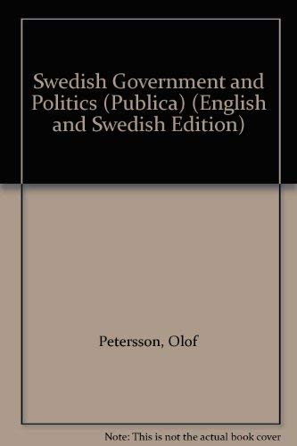Swedish Government and Politics: Petersson, Olof