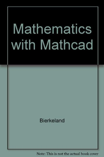 9789144002286: Mathematics with Mathcad