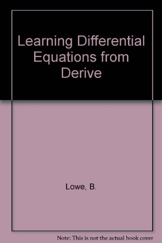 9789144008646: Learning Differential Equations from Derive
