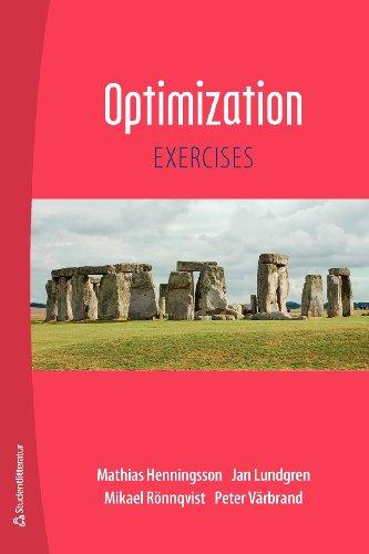 9789144053103: Optimization Exercises