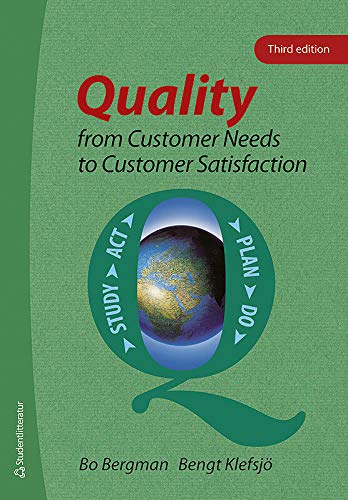 9789144059426: Quality from Customer Needs to Customer Satisfaction