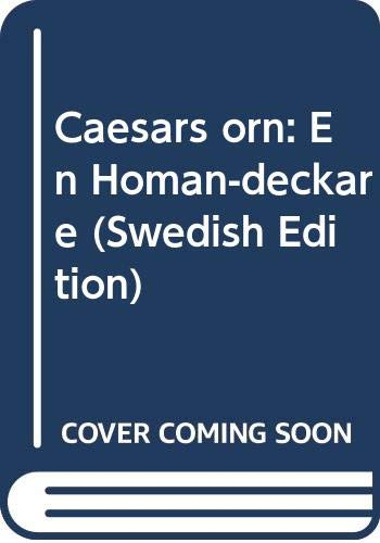 9789146168270: Caesars örn: En Homan-deckare (Swedish Edition)