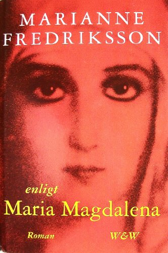 9789146170983: Enligt Maria Magdalena (Swedish Edition)