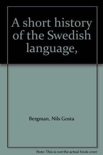 9789152000250: A short history of the Swedish language,