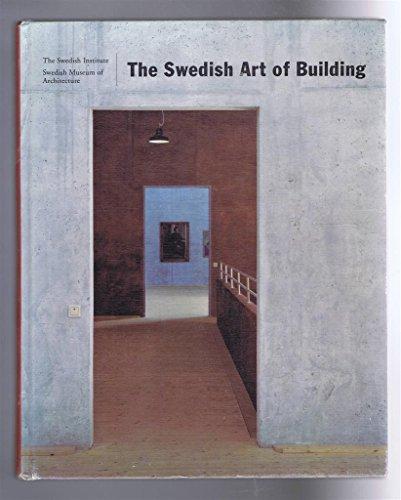 The Swedish art of building: Lindvall, Joran, ed.