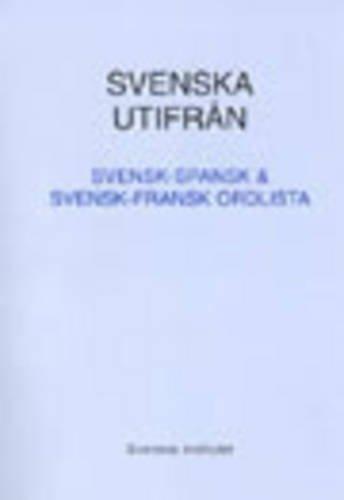 9789152006733: Svenska Utifran