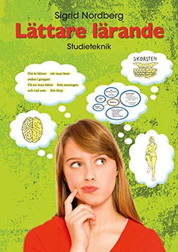 9789152311615: Lättare lärande – Studieteknik för svenska, svenska som andraspråk och sfi