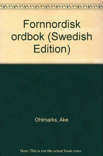 9789155019143: Fornnordisk ordbok (Swedish Edition)