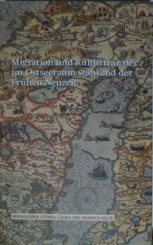9789170002762: Migration und kulturtransfer im ostseeraum während der Frühen Neuzeit (Acta Bibliothecae Regiae Stock)