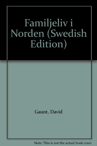 9789170214349: Familjeliv i Norden (Swedish Edition)