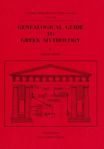 Genealogical Guide to Greek Mythology (Studies in: Carlos Parada