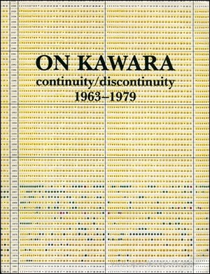 9789171001795: On Kawara, continuity/discontinuity, 1963-1979 (Moderna museet cat)