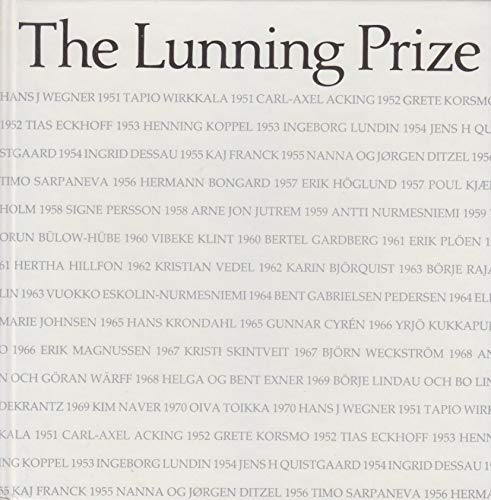The Lunning Prize (Swedish and English Edition): Nationalmuseum, Stockholm