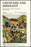 9789171062765: Criticism and Ideology: Second African Writers Conference Stockholm (Seminar Proceedings from the Scandinavian Institute of African Studies, 20.)