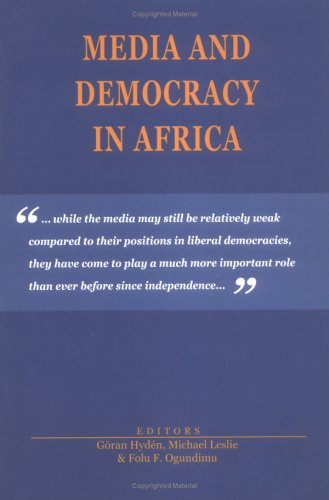 9789171064950: Media and Democracy in Africa