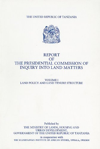 Report of the Presidential Commission of Inquiry: United Republic of