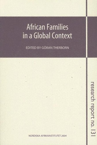 9789171065360: African Families in a Global Context: Research Report 131 (NAI Research Reports)