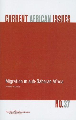 Migration in Sub-Saharan Africa (Paperback): Aderanti Adepoju
