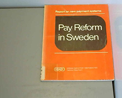 Pay reform in Sweden. Reform on new Payment Systems.